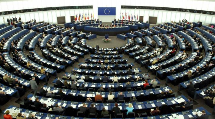 <figcaption>General view of the European Parliament in Strasbourg © Reuters</figcaption>