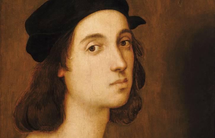 <figcaption>Raphael&#039;s Self-Portrait</figcaption>