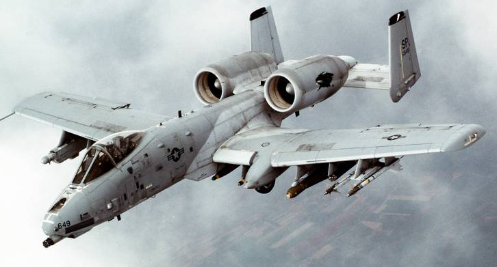 <figcaption>Only A-10s please</figcaption>