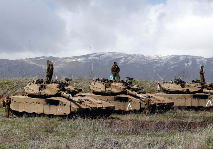 <figcaption>Israel: Gobbling up more Syrian land</figcaption>