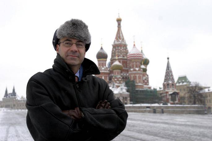 <figcaption>Browder in happier days in the 90s, when critics say he was illegally skimming billions off of Russia&#039;s energy industry, while ordinary Russians starved</figcaption>