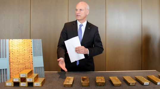 <figcaption>The German Central bank finally got its gold back. But it wasn't easy...</figcaption>