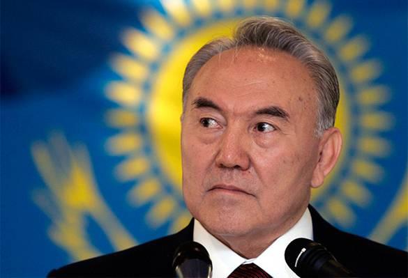 <figcaption>Kazakh president Nursultan Nazarbayev</figcaption>