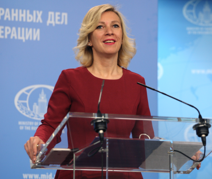 <figcaption>Maria Zakharova, patron saint of no BS</figcaption>