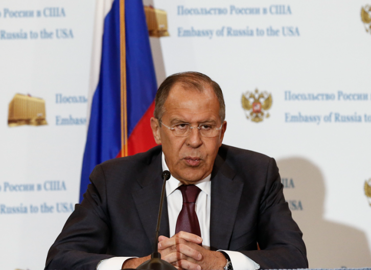 <figcaption>Lavrov expects too much. </figcaption>