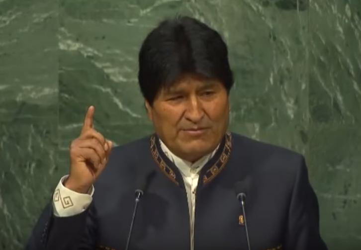 <figcaption>Evo Morales</figcaption>