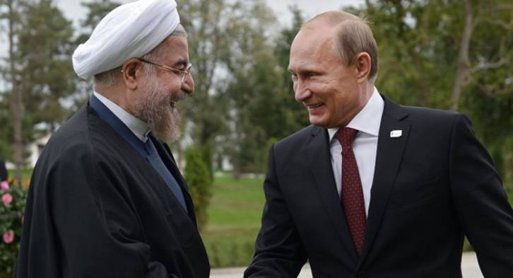 <figcaption>Military alliance in Syria, oil partnership, cooperation on de-dollarization, free trade deals, SCO forum…the two are starting to look a lot like each other's best friend</figcaption>