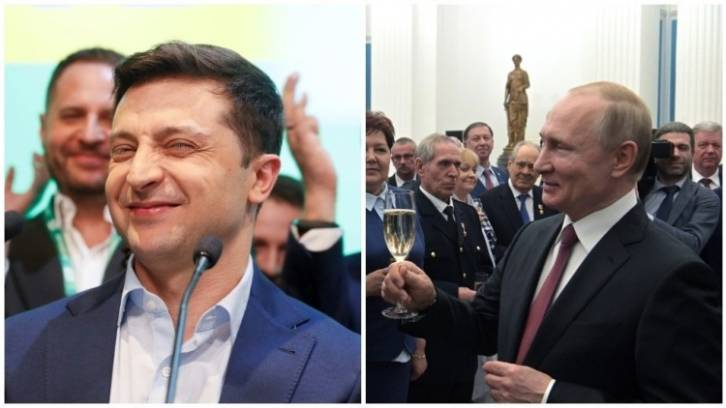 <figcaption>Zelensky really set himself up here, but let it not be said Putin is a hypocrite. He is in favor of Ukrainian-Russian unity whether it is under Kiev's leadership or Moscow's</figcaption>