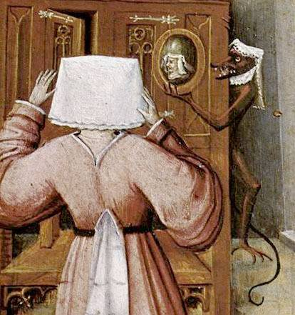 <figcaption>Detail from Hieronymus Bosch&#039;s, &quot;Superbia&quot; (&quot;Pride&quot;).</figcaption>