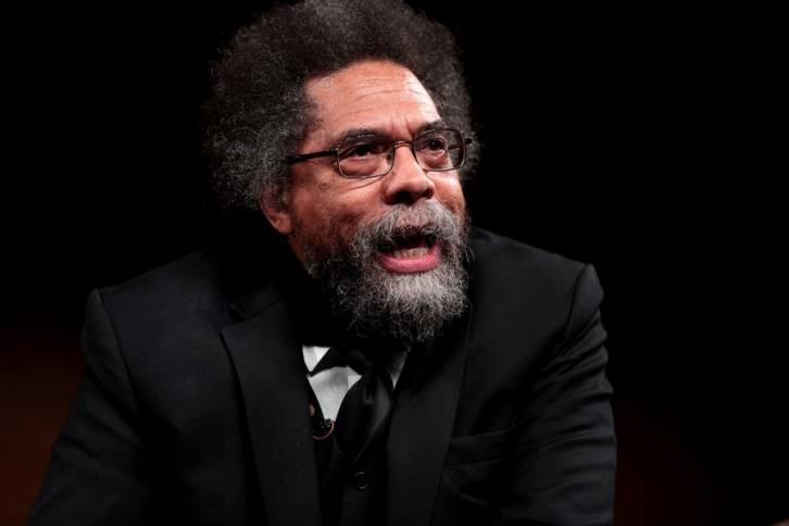 <figcaption>Noted Black American 'Intellectual', Cornel West</figcaption>