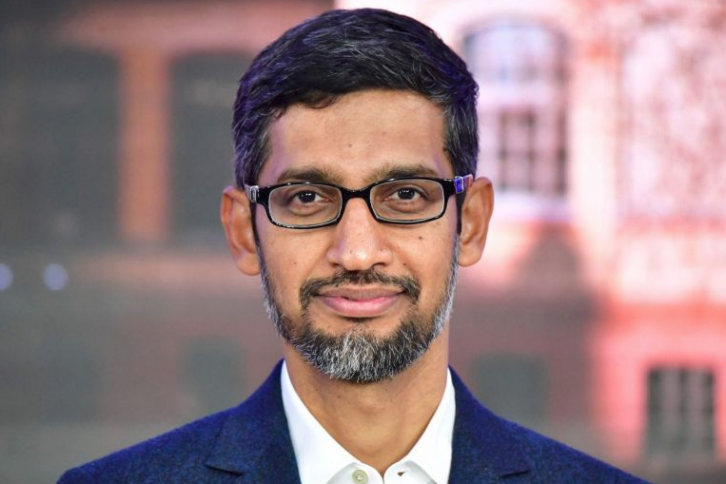<figcaption>Why is this Indian telling you what you can and cannot know? - Google CEO Sindar Pinchai.</figcaption>
