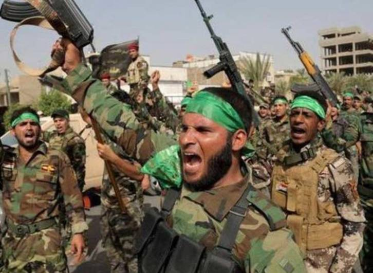 <figcaption>Iran-supported Shi'ite militia in Syria</figcaption>