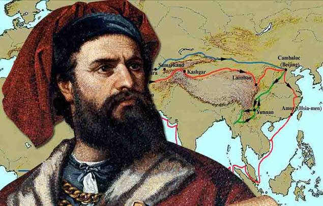 <figcaption>The Silk Road connected China to central Asia, the middle east and Europe. China wants to build a modern, high-tech version of the ancient trading thoroughfare.</figcaption>