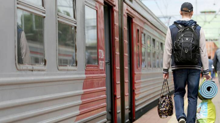 <figcaption>Russian Railways, fully owned by the Russian government, will issue a 'green bond' to cover part of the construction costs.Kirill Zykov / Moskva News Agency</figcaption>