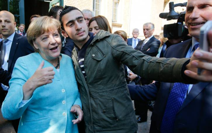 <figcaption>Mama Merkel is going to miss them</figcaption>