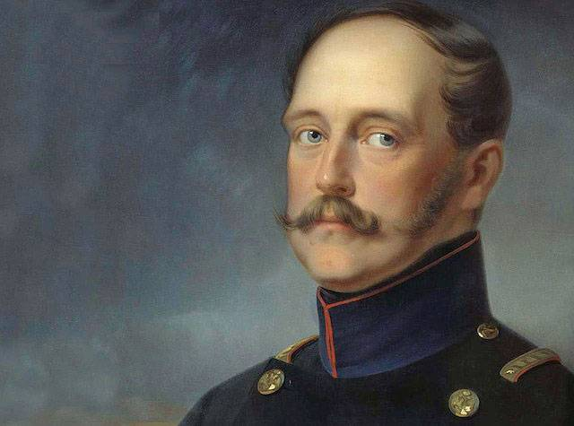 <figcaption>Tsar Nicholas I, (1796 - 1855)</figcaption>