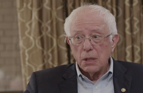 <figcaption>Bernie Sanders</figcaption>