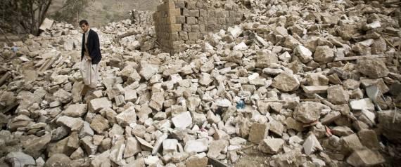 <figcaption>Sunni Saudi Arabia, with critical U.S. military aid, has begun a bombing campaign </figcaption>