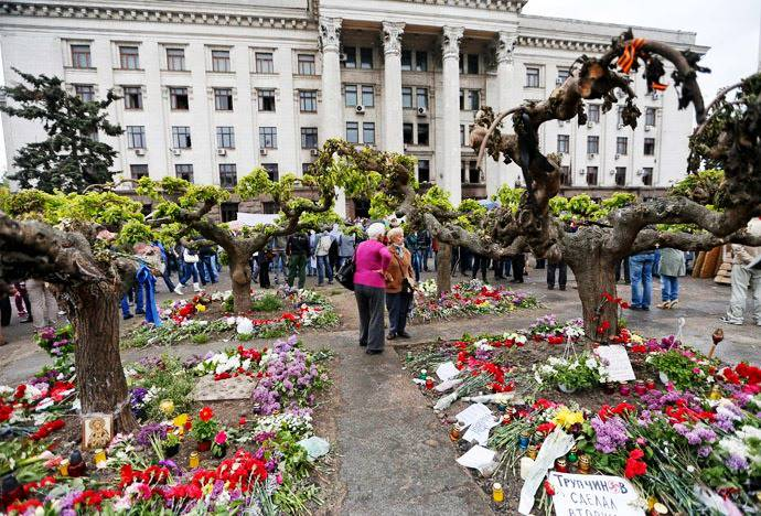 <figcaption>Western governments have turned a blind eye to Odessa massacre</figcaption>
