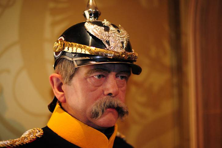 <figcaption>Germany&#039;s unifier and one of history&#039;s greatest statesmen</figcaption>