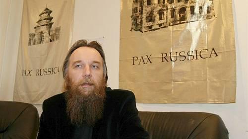 <figcaption>Евразиец Александр Дугин, конечно же, весь исстрадается, попав под североамериканские санкции</figcaption>