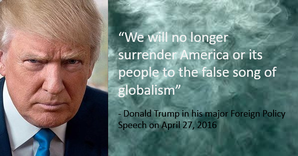 <figcaption>Criticizing globalism has gone mainstream with the Trump campaign</figcaption>