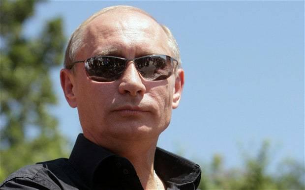<figcaption>Putin goes gangsta</figcaption>
