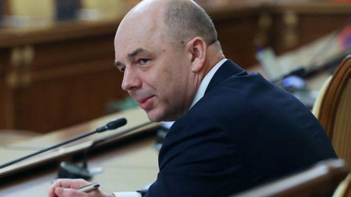 <figcaption>Finance Minister Anton Siluanov</figcaption>