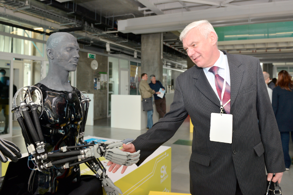 <figcaption>File photo of the third Skolkovo Robotics International Conference in March 2015 | Photo: Skolkovo</figcaption>