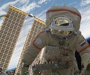 <figcaption>Russian Cosmonaut still in the flesh</figcaption>