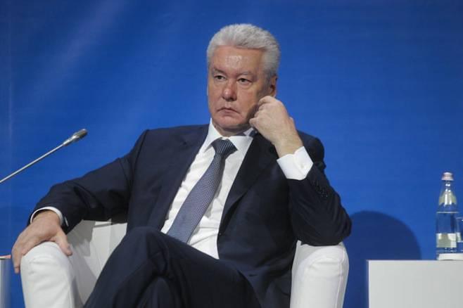 <figcaption>Moscow Mayor Sergei Sobyanin</figcaption>
