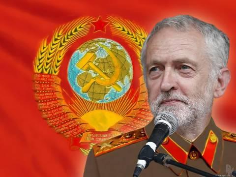 <figcaption>В западных СМИ Корбина изображают маркскистом и маоистом</figcaption>