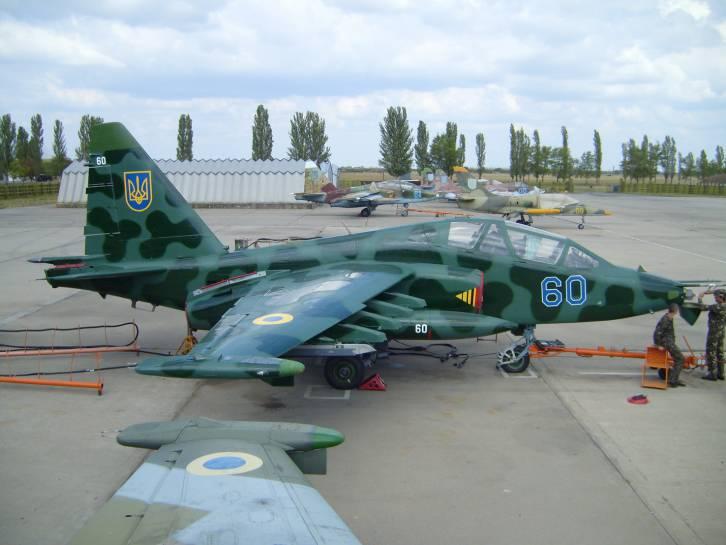 <figcaption>Штурмовик Су-25</figcaption>