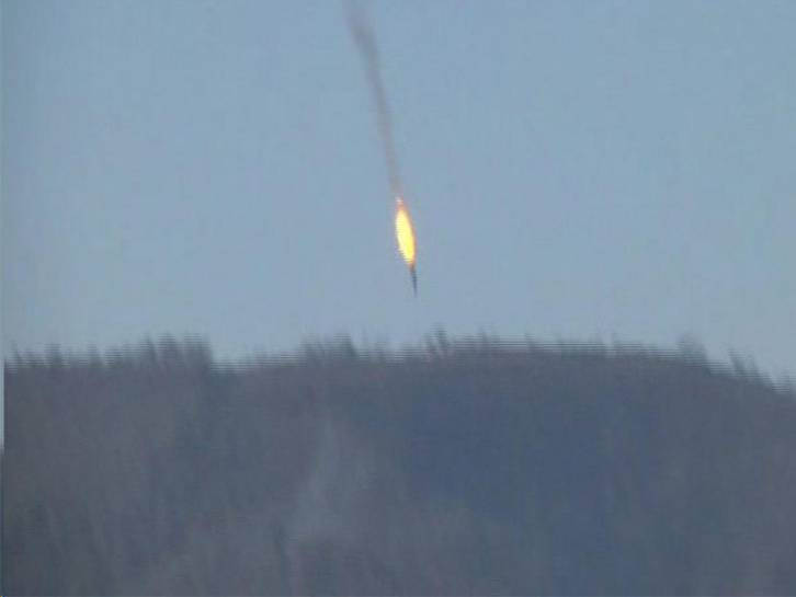 <figcaption>A NATO member just shot down a Russian military jet...</figcaption>