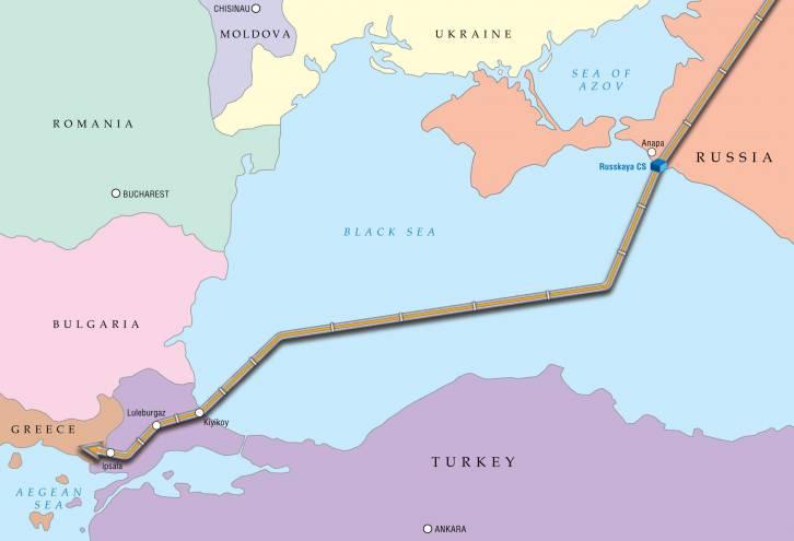 Turkish Stream gas pipeline