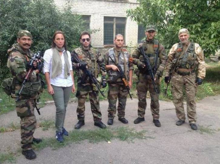 The freedom fighters of Donbass are not Russian regulars, this contingent from France are joined by fighters who are Spanish, Italians, Serbs, Czechs, Germans, Latvians, Georgians, Afghans, Americans, Brazilians, and Poles