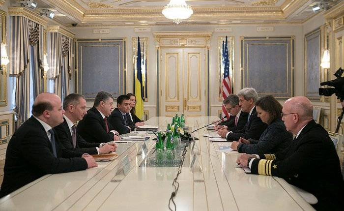 <figcaption>Secretary Kerry's Visit to Kyiv, February 5, 2015 - U.S. Embassy Kyiv</figcaption>