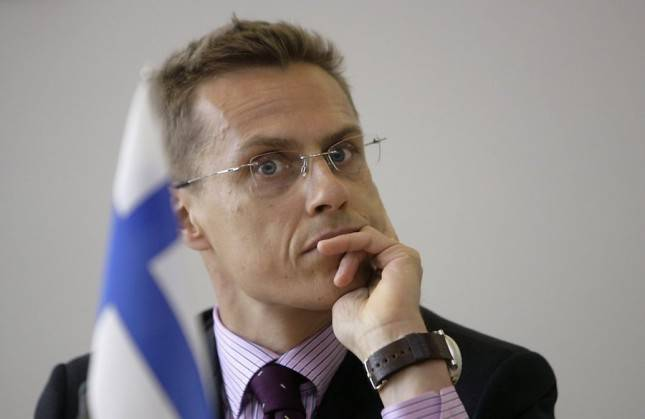 <figcaption>Stubb has been pushing for Finland's NATO membership</figcaption>