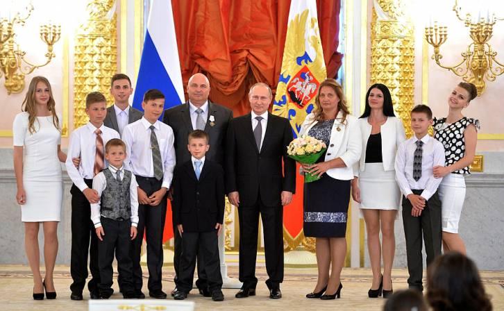 Putin family kids