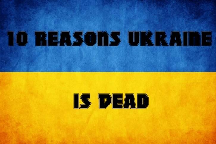<figcaption>Ukraine is finished</figcaption>
