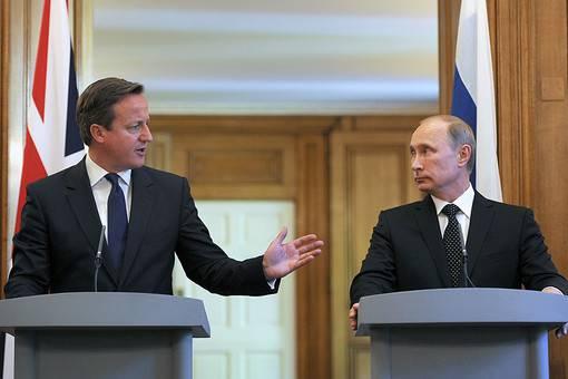 <figcaption>Cameron deliberately seeks to irritate Putin</figcaption>
