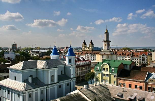 <figcaption>Western Ukrainian City Ivano-Frankivsk</figcaption>