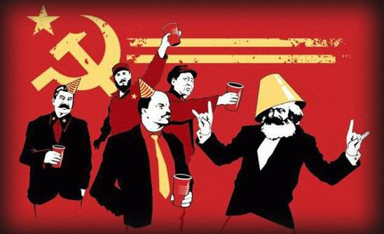 <figcaption>Applebaum refers to KBG officers who acted as the Soviet Union seemed near collapse in the 1980s.</figcaption>