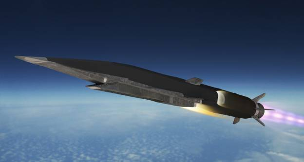 <figcaption>The 3M22 Zirkon is a hypersonic missile</figcaption>