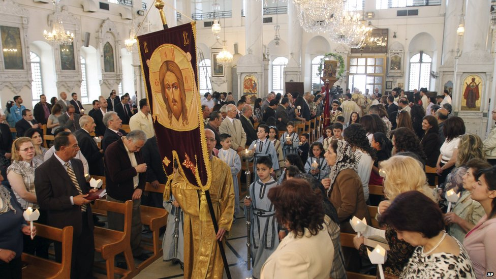 Christians Return to Syria - But Not to Iraq