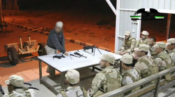 Training 'anti-ISIS rebels' in Jordan
