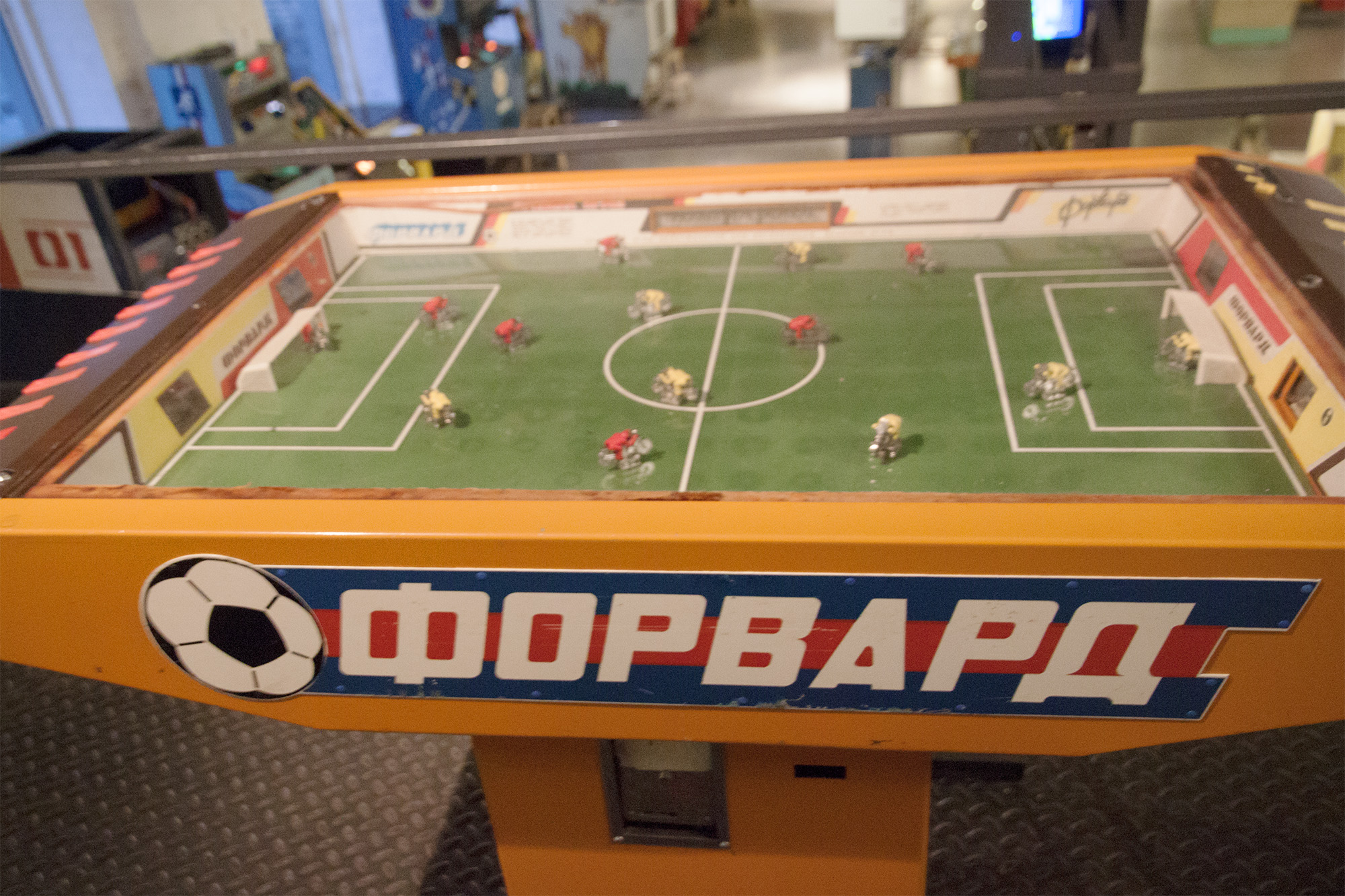 Bicycle football. Sorry Brooklyn, the Soviets had it first...