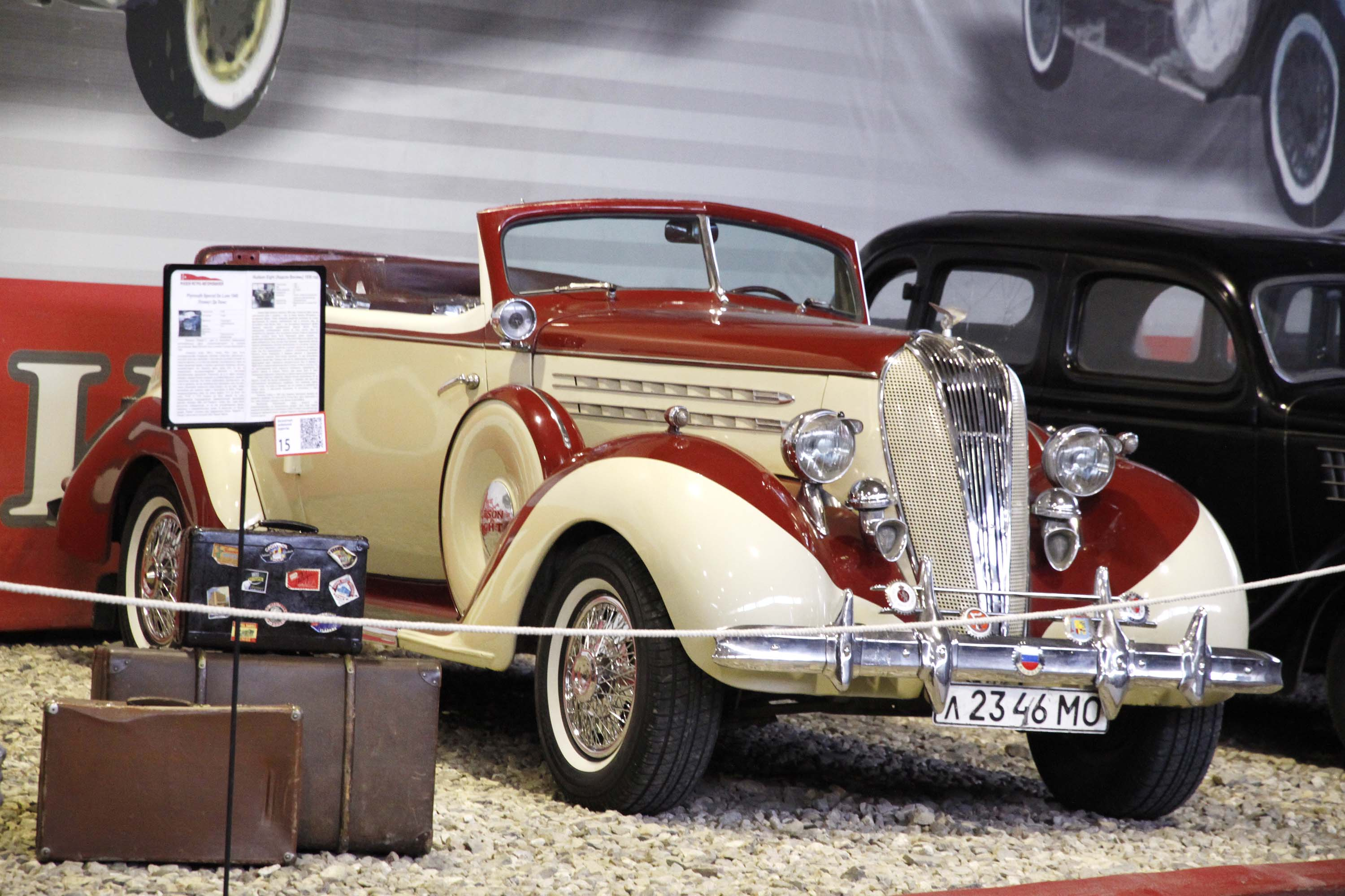 Moscow\'s Flashy Vintage Cars