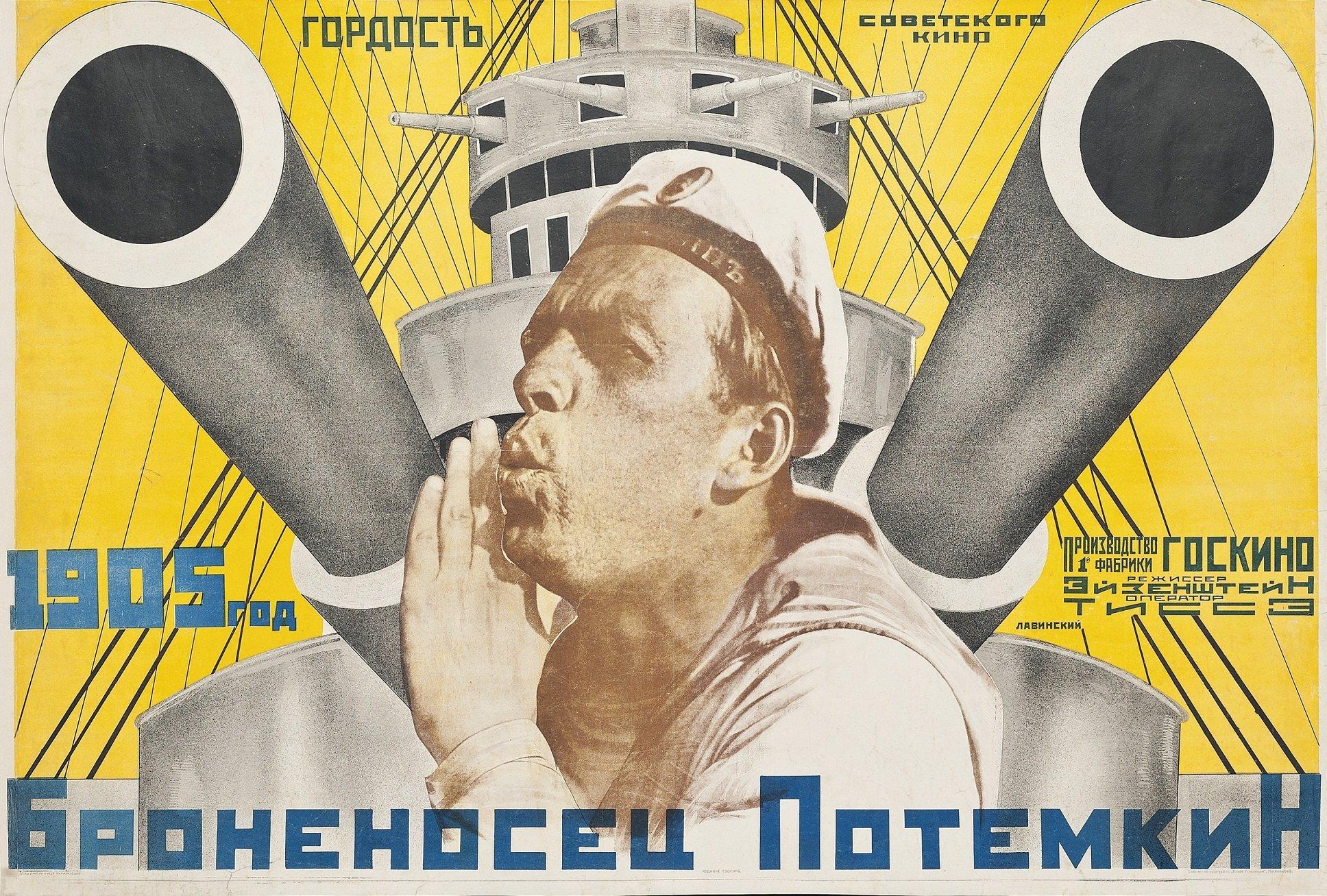 battleship potemkin as propaganda The russian master's 1925 bombshell battleship potemkin a/k/a cinema history's third greatest game-changer for all potemkin's rabble-rousing propaganda.