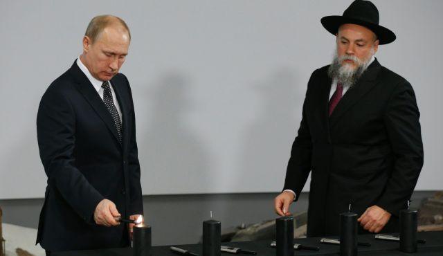 Jew Detector: Senior Russian Rabbi Says Putin's Ouster Would Endanger Jews